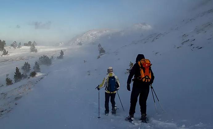 Demi journée découverte en raquettes dans les Pyrénées