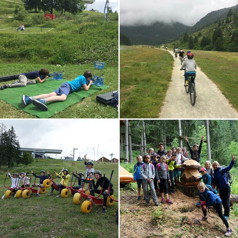 Parcours VTT et multi-activités pour enfants à Méribel