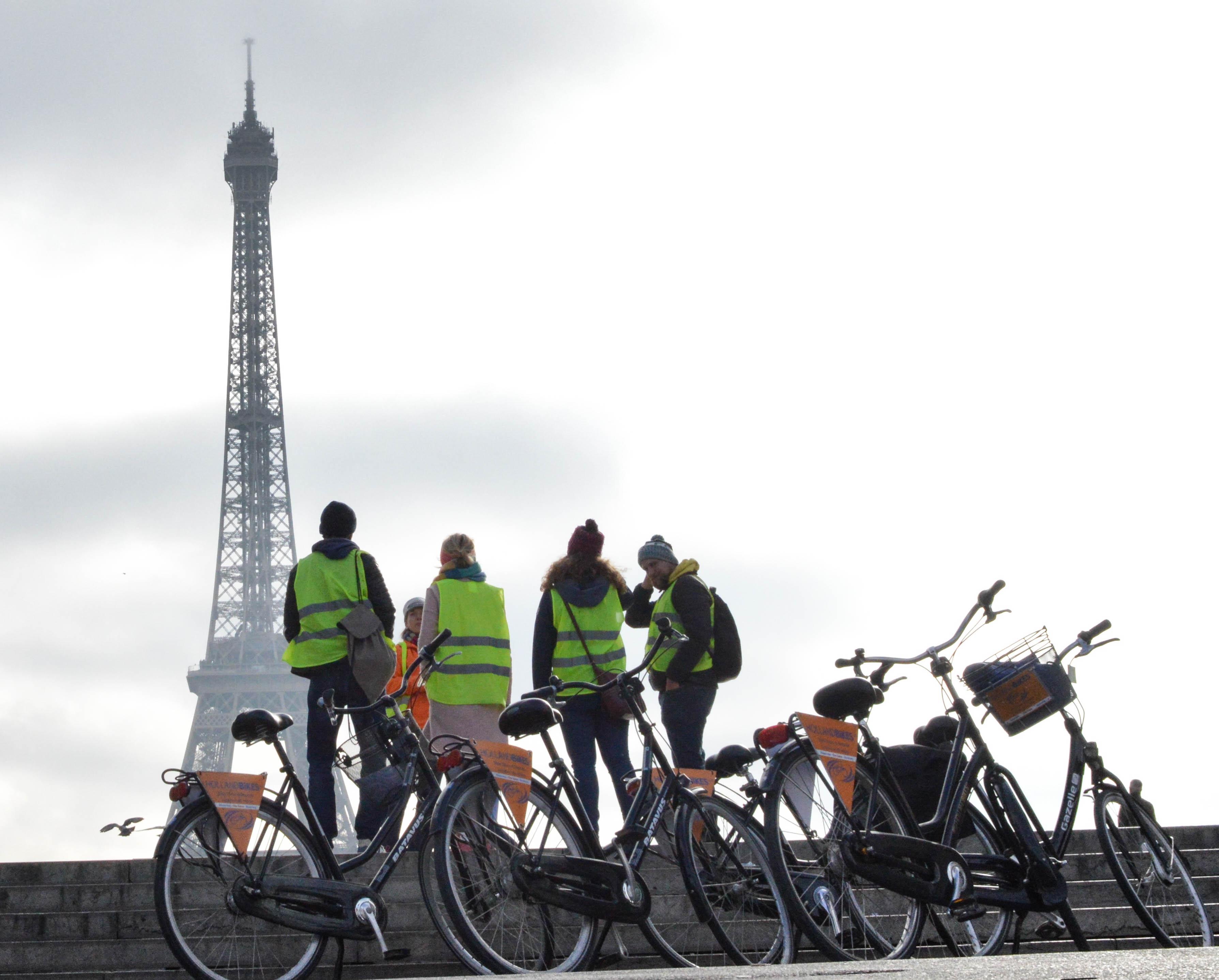 Découverte des secrets de Paris en vélo hollandais