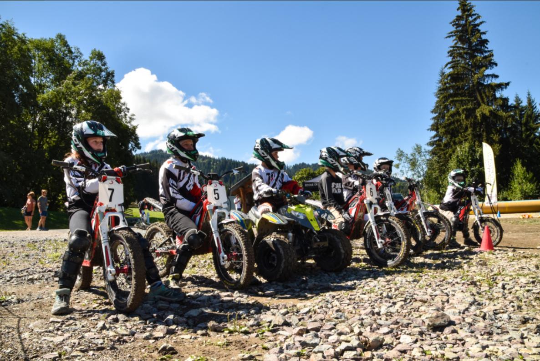 Moto trial électrique enfant et adulte en Haute Savoie