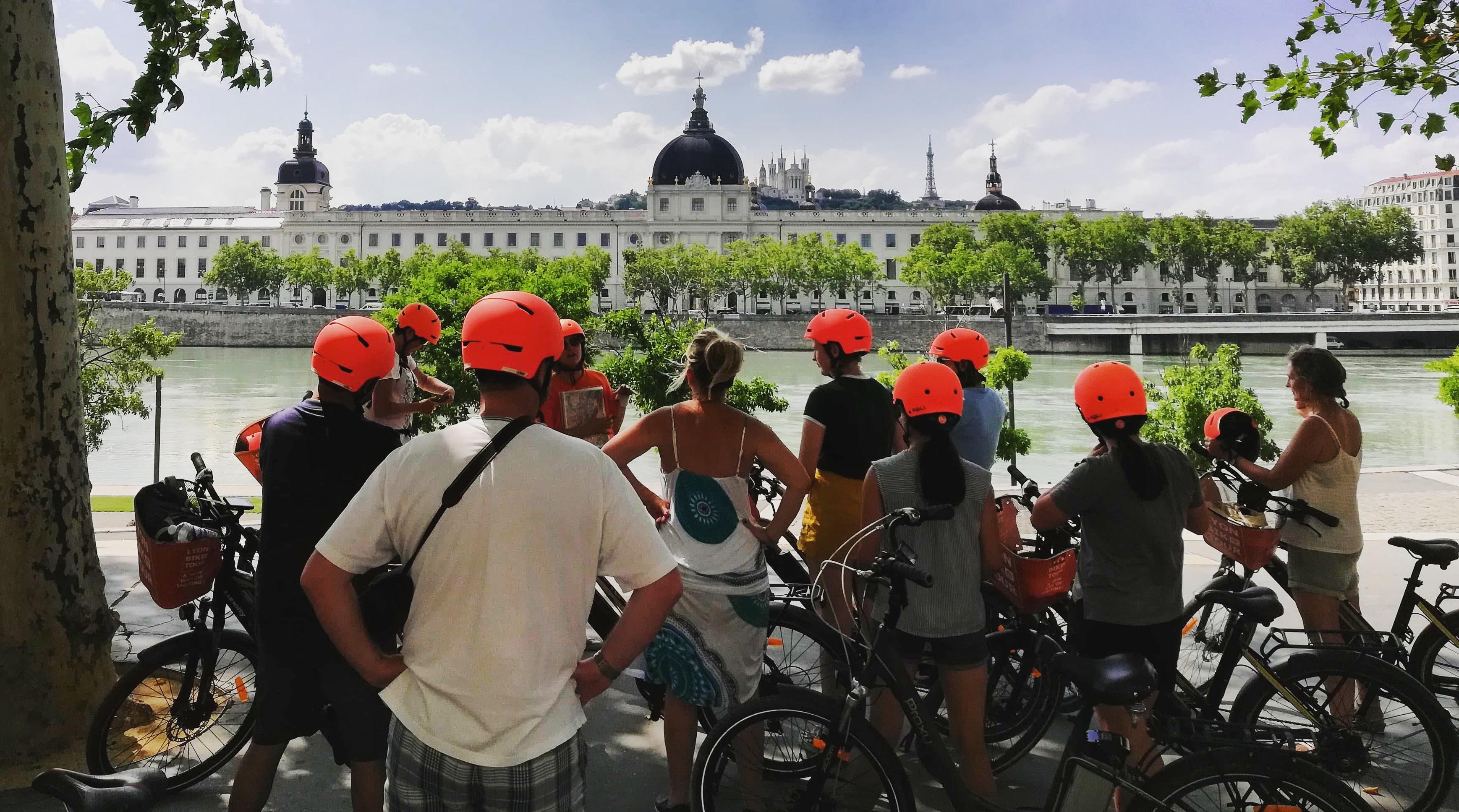 Visite guidée de Lyon en vélo électrique et dégustation