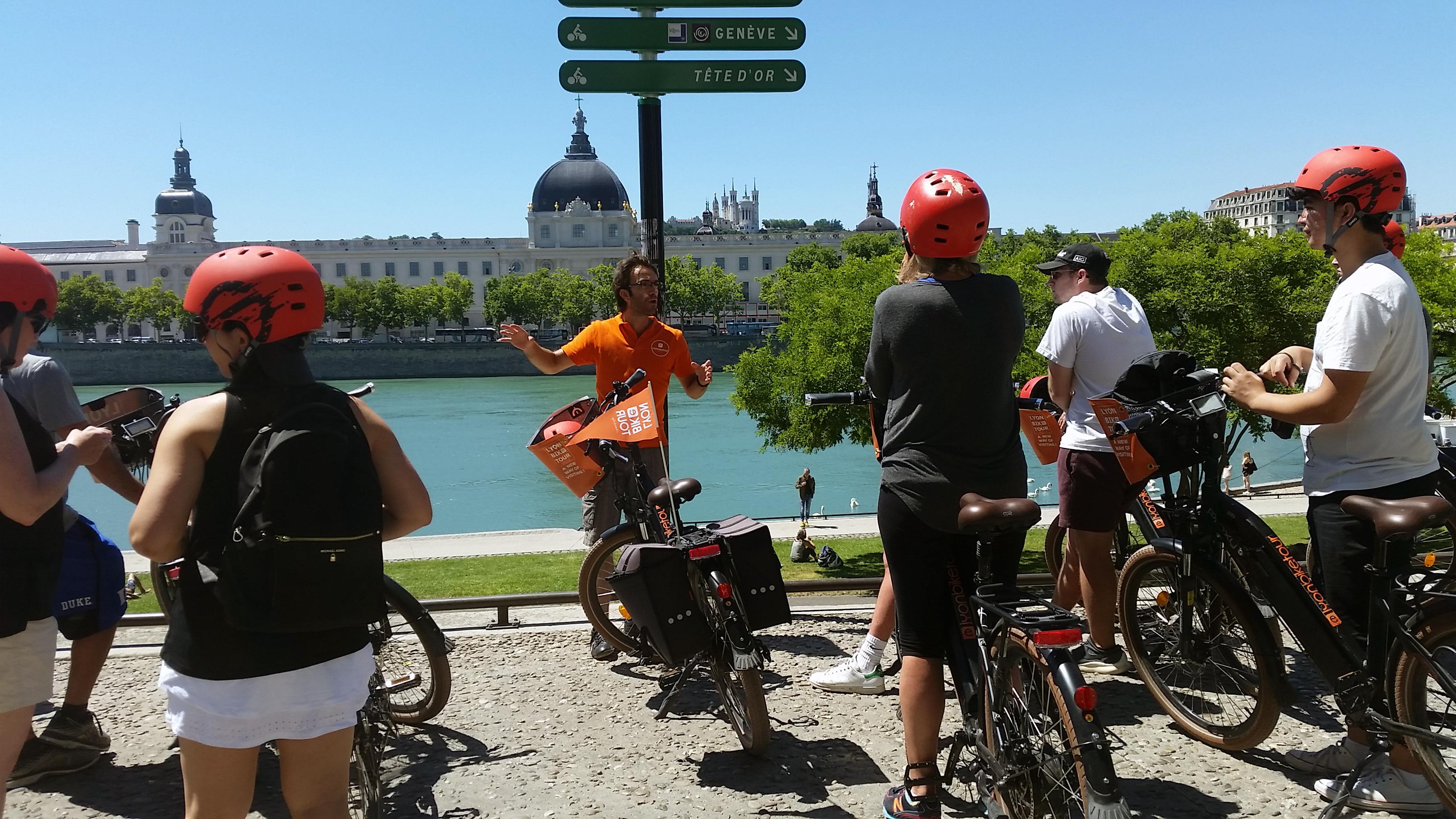 Visite Guidée de Lyon à Vélo Electrique
