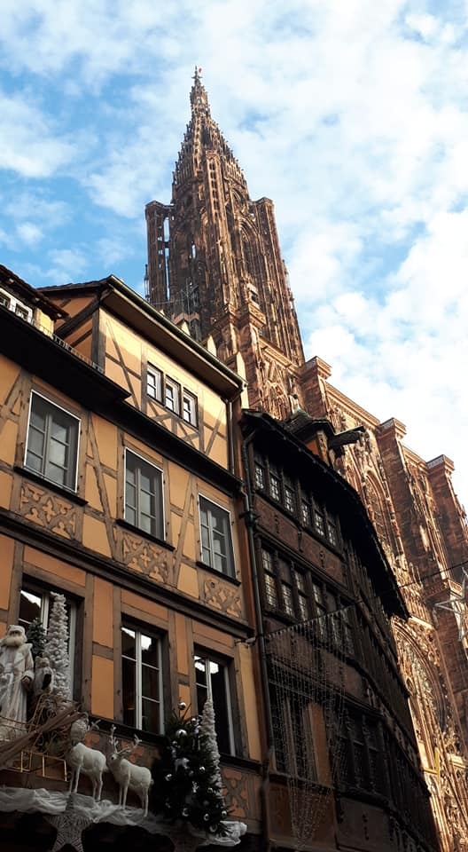 Visite de la cathédrale de Strasbourg