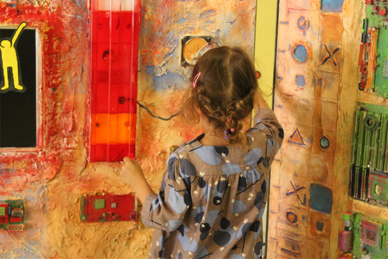 Une expérience sensorielle unique par l'art et le toucher