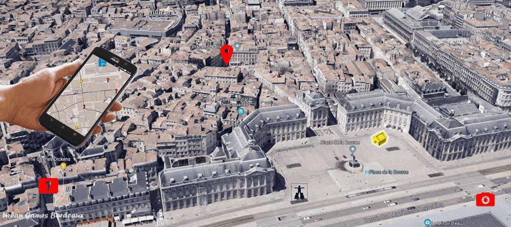 Jeu de piste pour EVJF dans le centre de Bordeaux