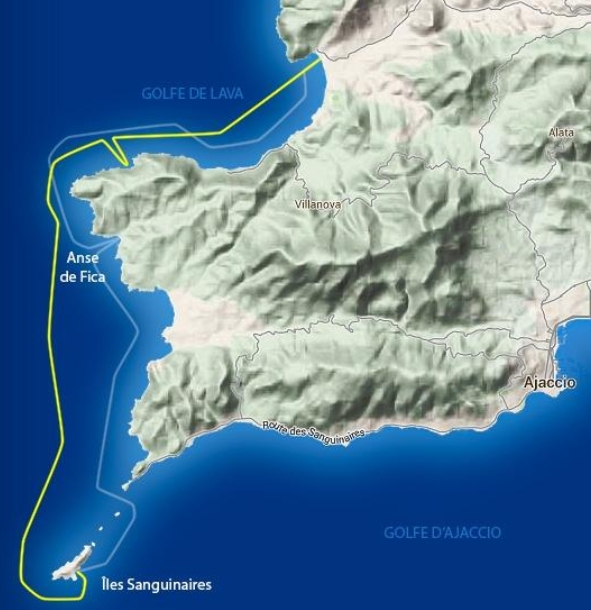 Randonnée en Jet ski : Cap sur les îles sanguinaires