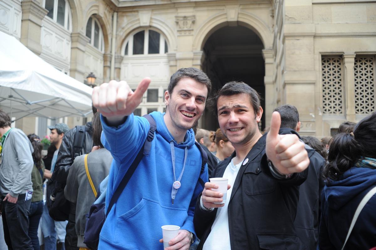 Jeu insolite pour EVG à Marseille