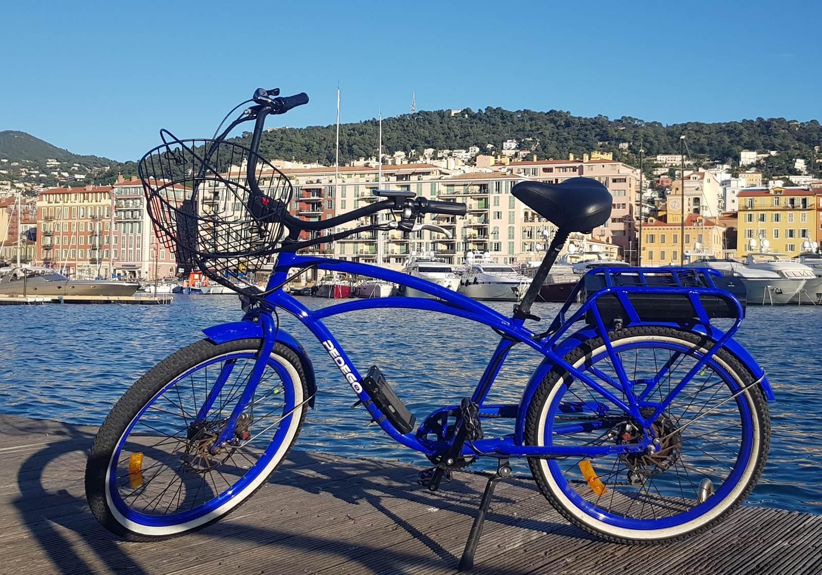 Randonnée à vélo électrique sur la Côte d'Azur
