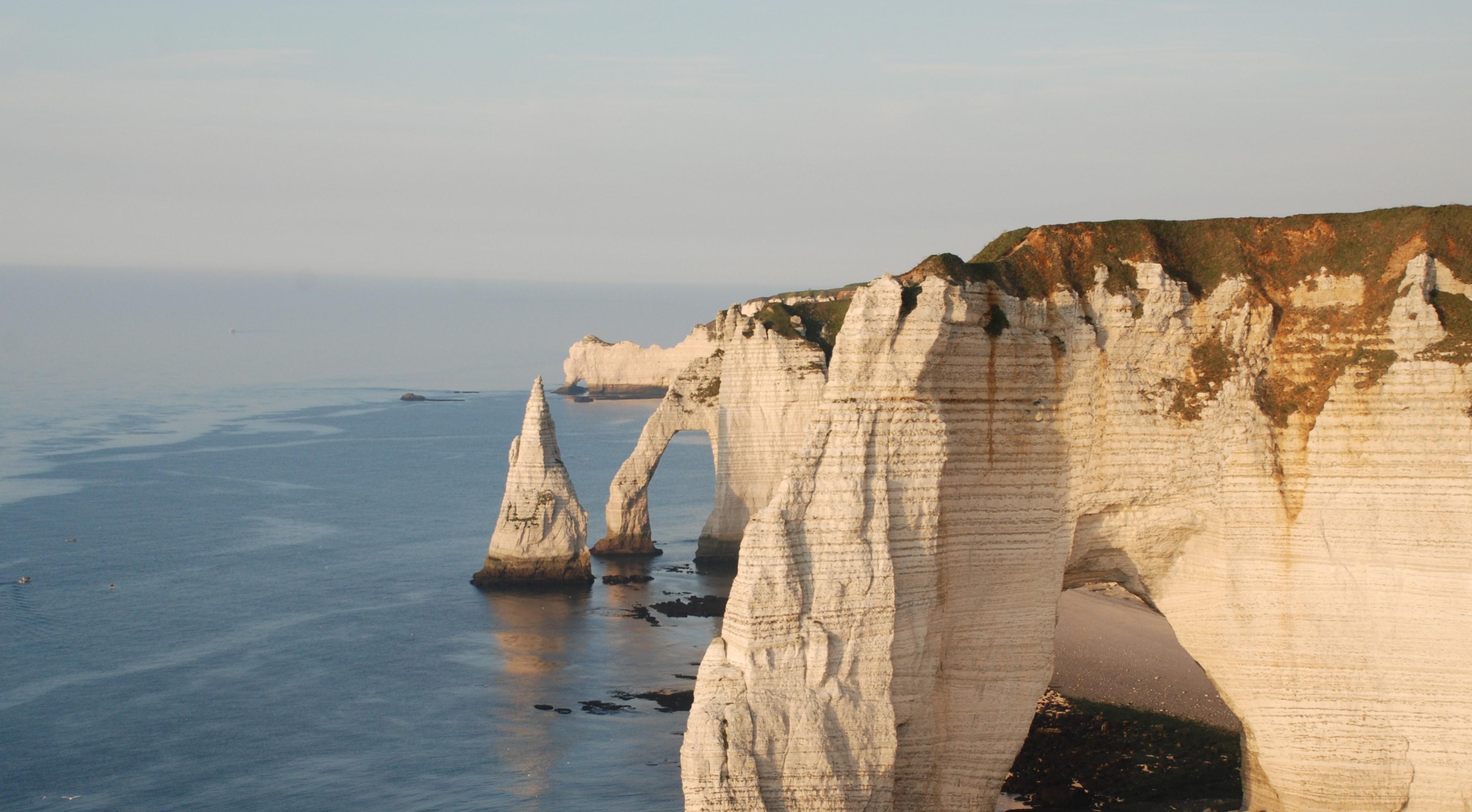 Visite de la Normandie en hélicoptère