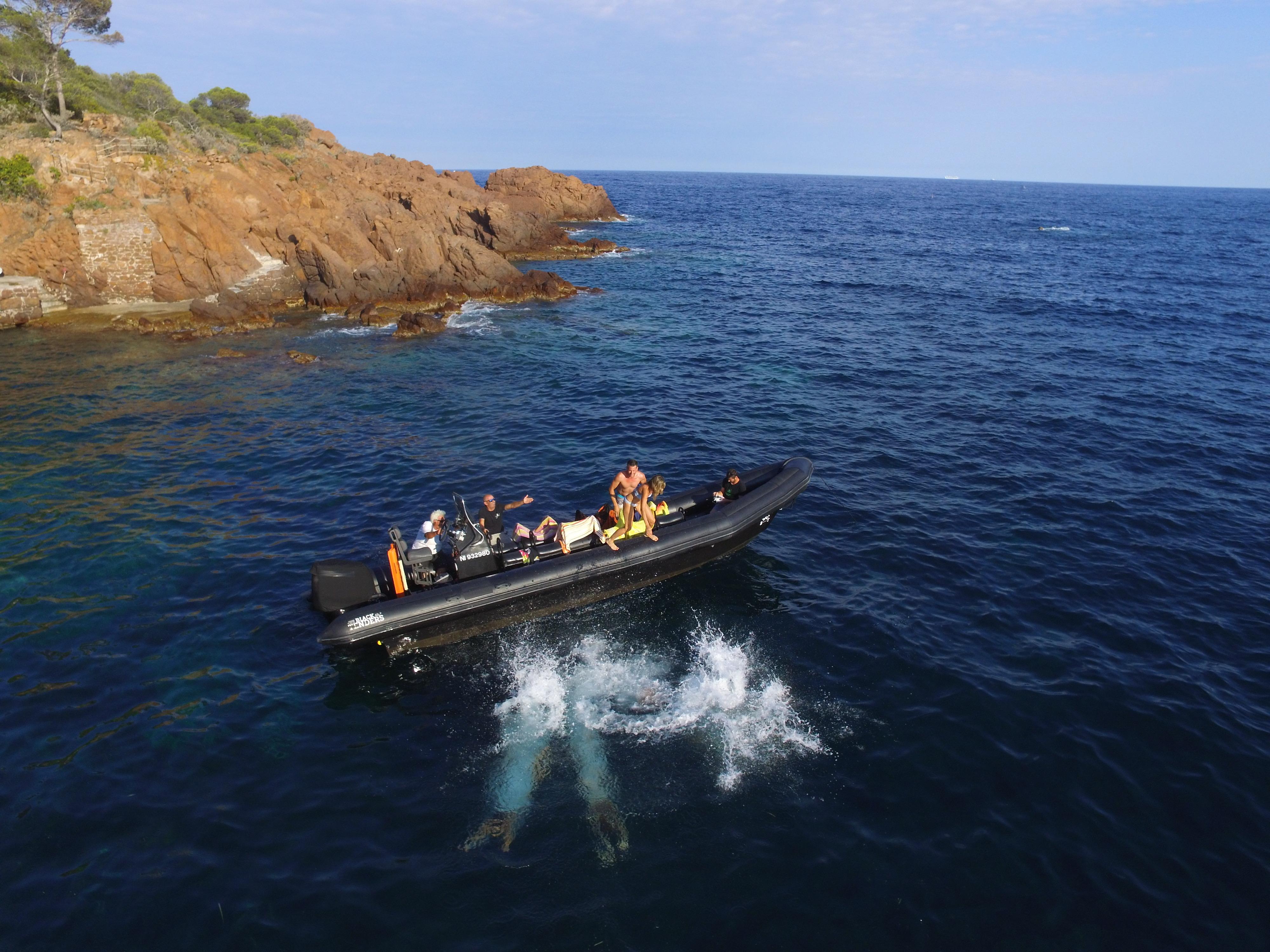 Excursion nautique entre Nice et Monaco