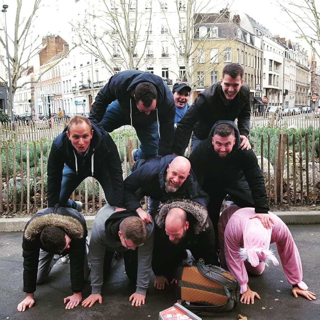 Parcours de défis EVG ou EVJF à Lille