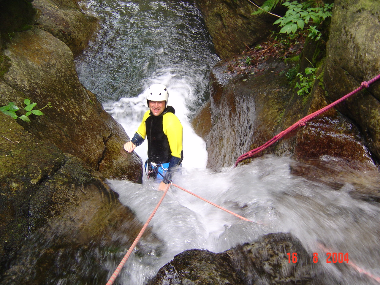 Canyoning sportif en Haute-Garonne