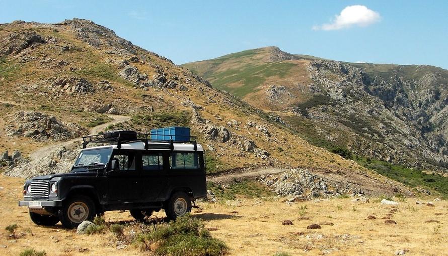 Randonnée 4x4 entre mer et montagne proche de Calvi