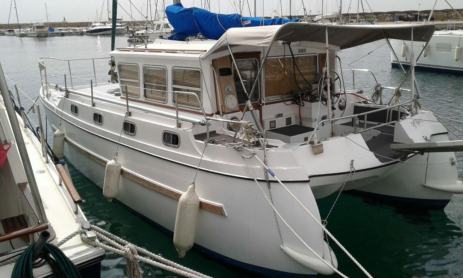 Journée bateau sur un Catamaran en rade de Marseille
