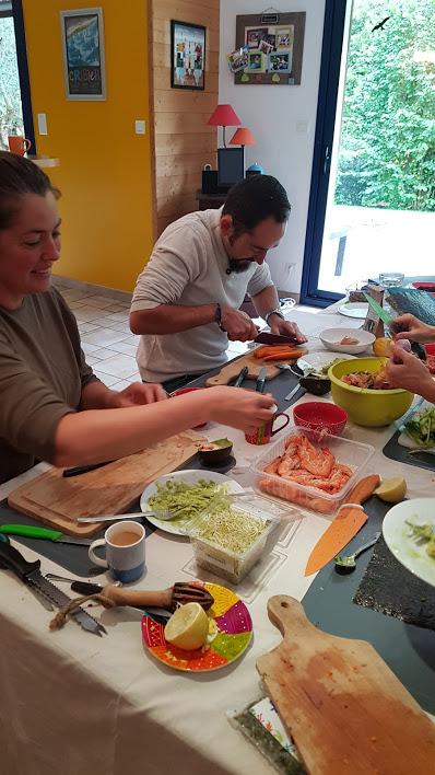 Atelier cuisine des algues à Plogonnec