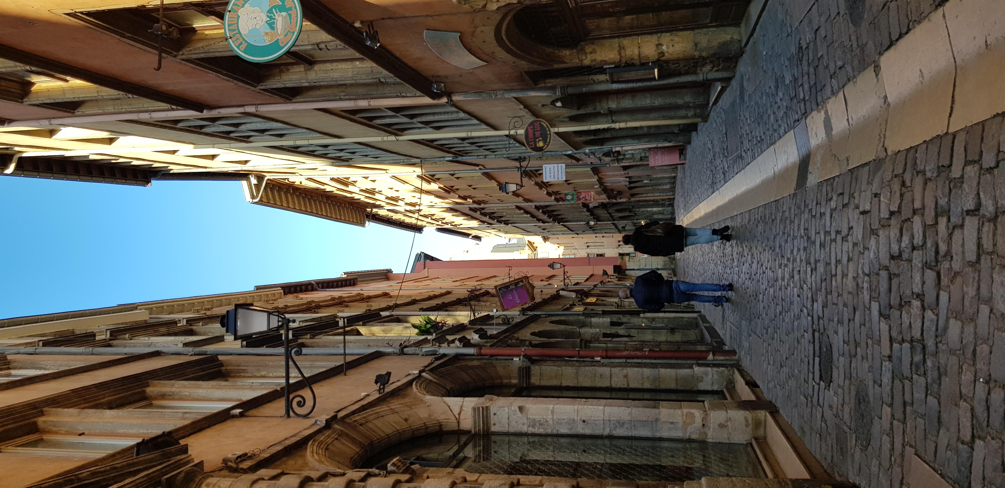 Visite de Lyon l'ancienne