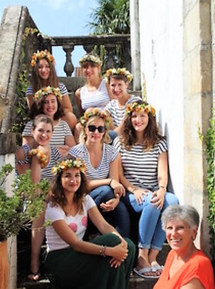 Atelier d'art floral spécial EVJF près de Biarritz