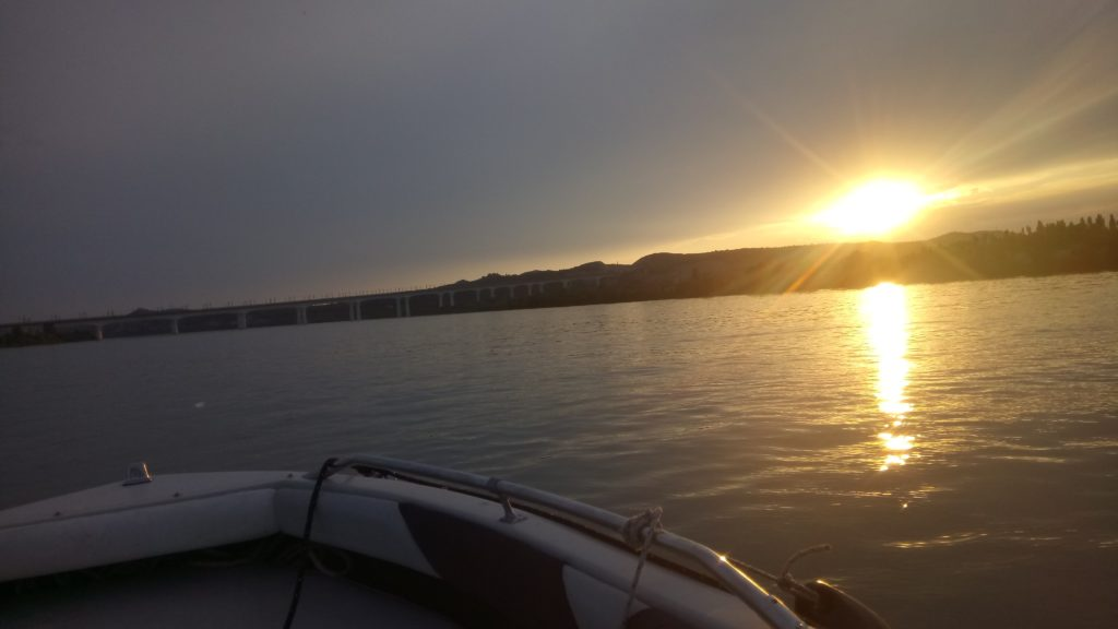 Petite balade de Vallabrèges en bateau