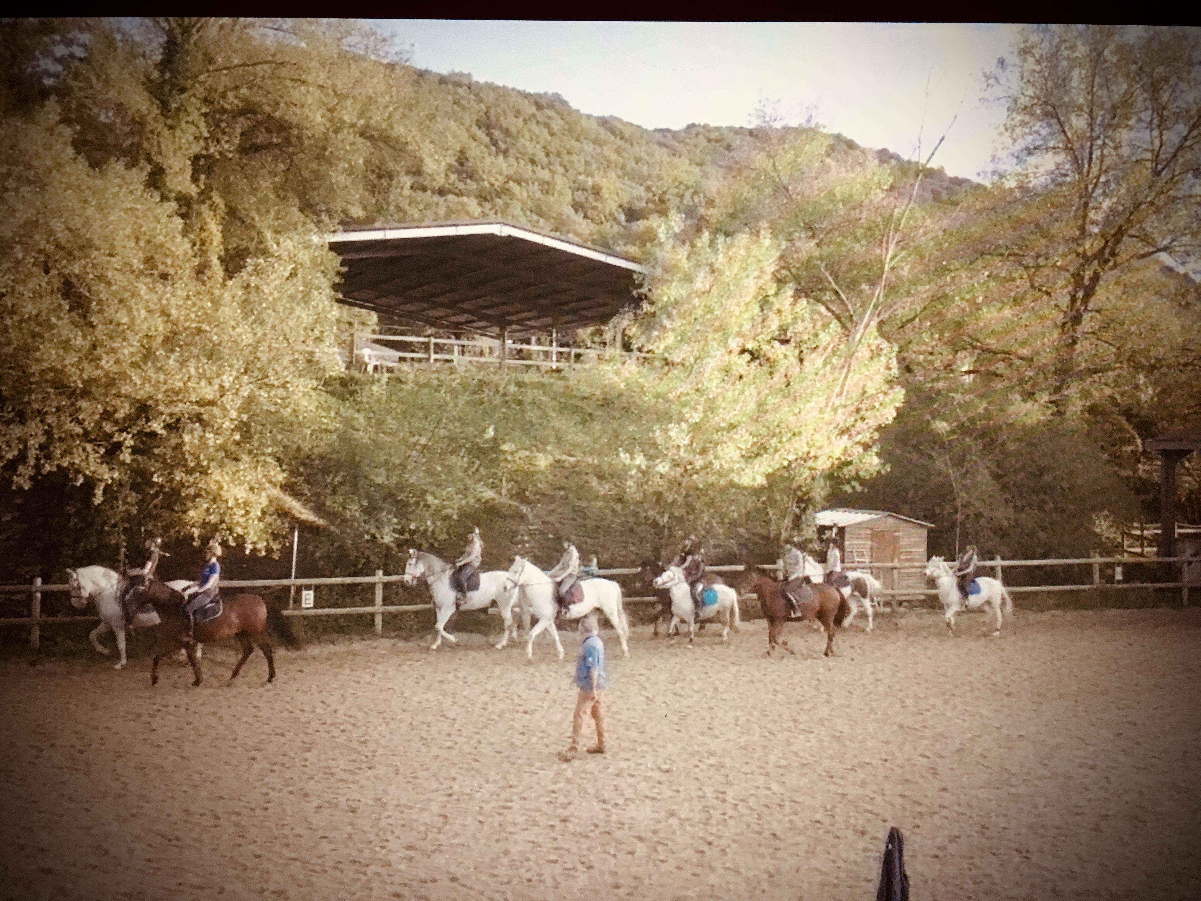 Cours d'équitation au Rouret
