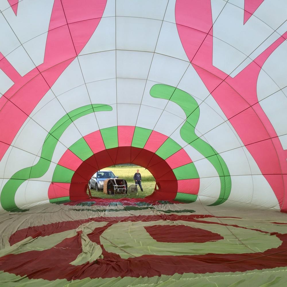 Survol de la Région Rhône-Alpes en Ballon