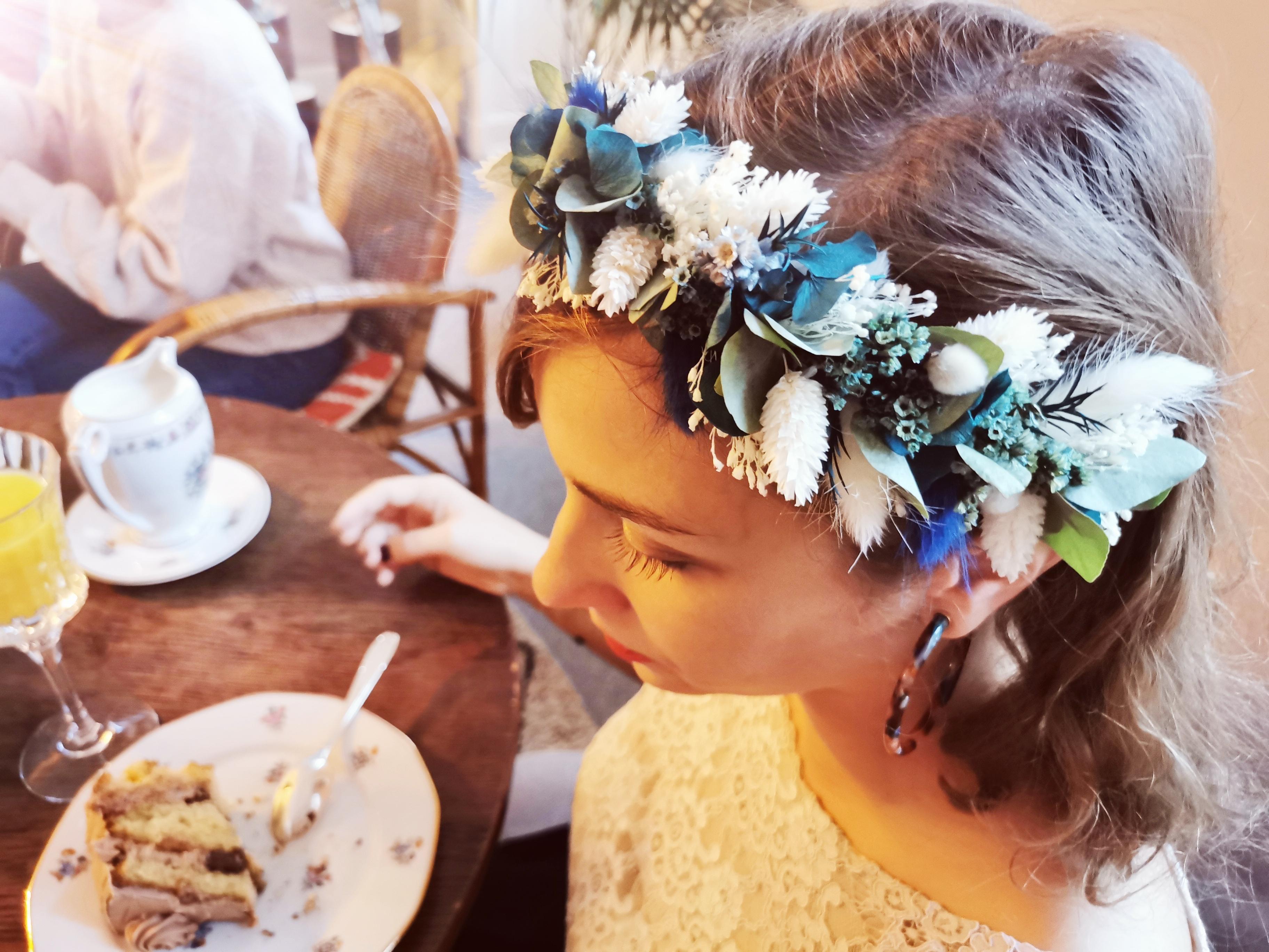 Atelier de couronne de fleurs