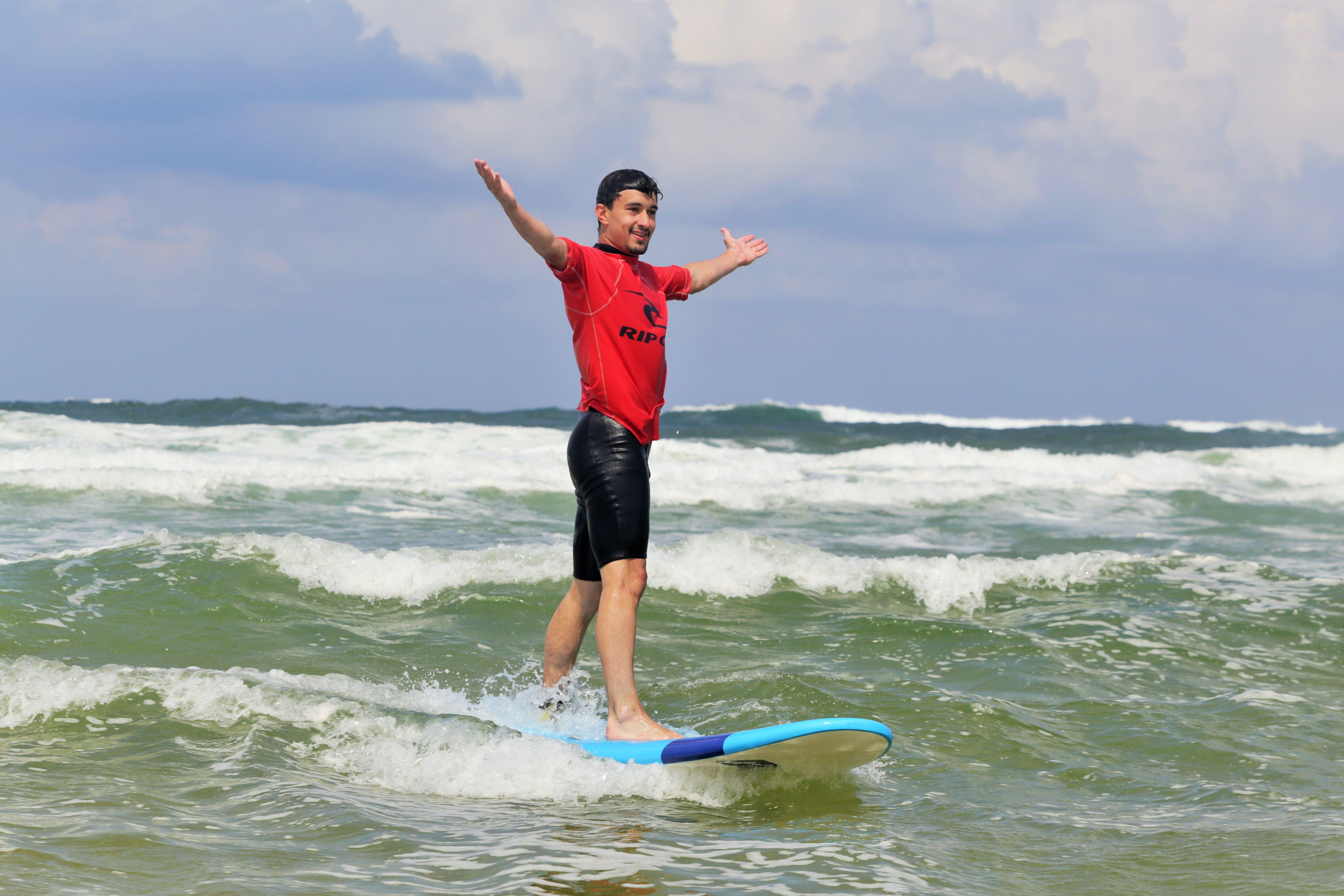 Cours d'approfondissement du Surf