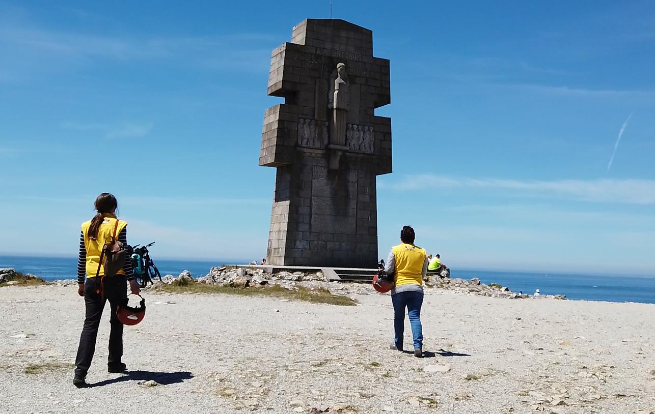 La Presqu'île de Crozon en scooter électrique