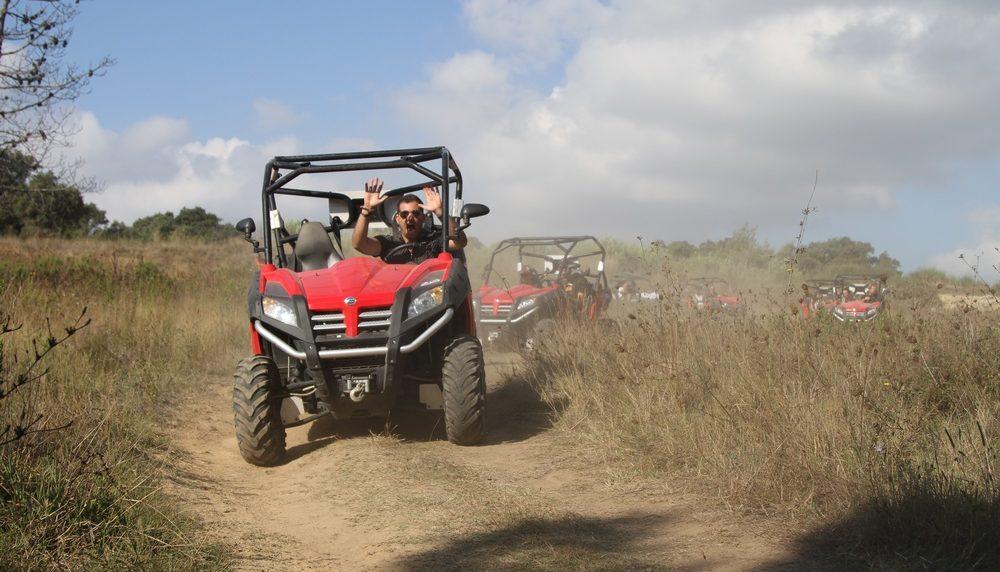 Randonnée en buggy près de Saint-Raphaël