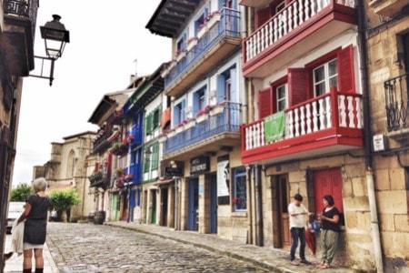 Visite guidée d'Hondarribia en Espagne au départ de Biarritz