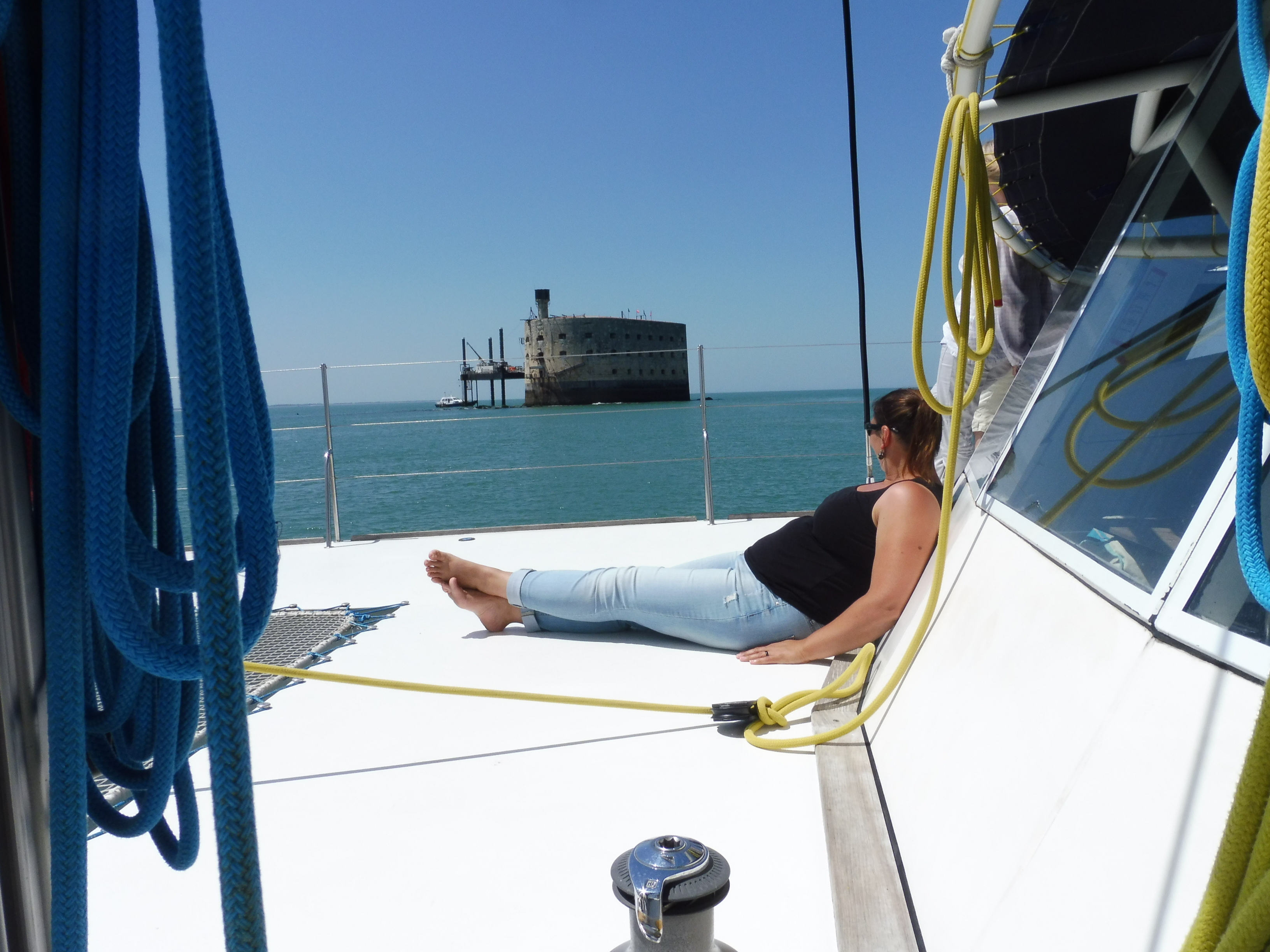 Croisière en maxi-catamaran à Fort Boyard