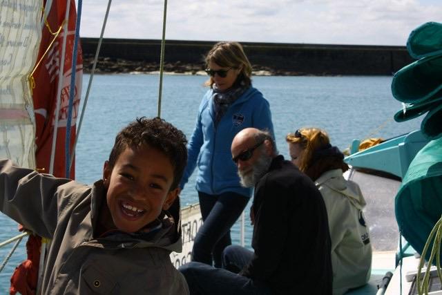 Balade en mer sur la baie de Morlaix