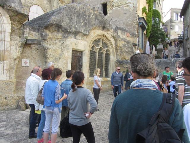 Visite de la ville de Saint-Emilion