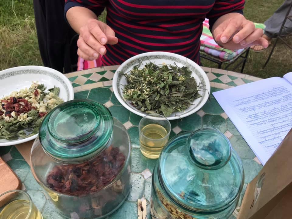 Confection de Tisanes et Phytothérapie