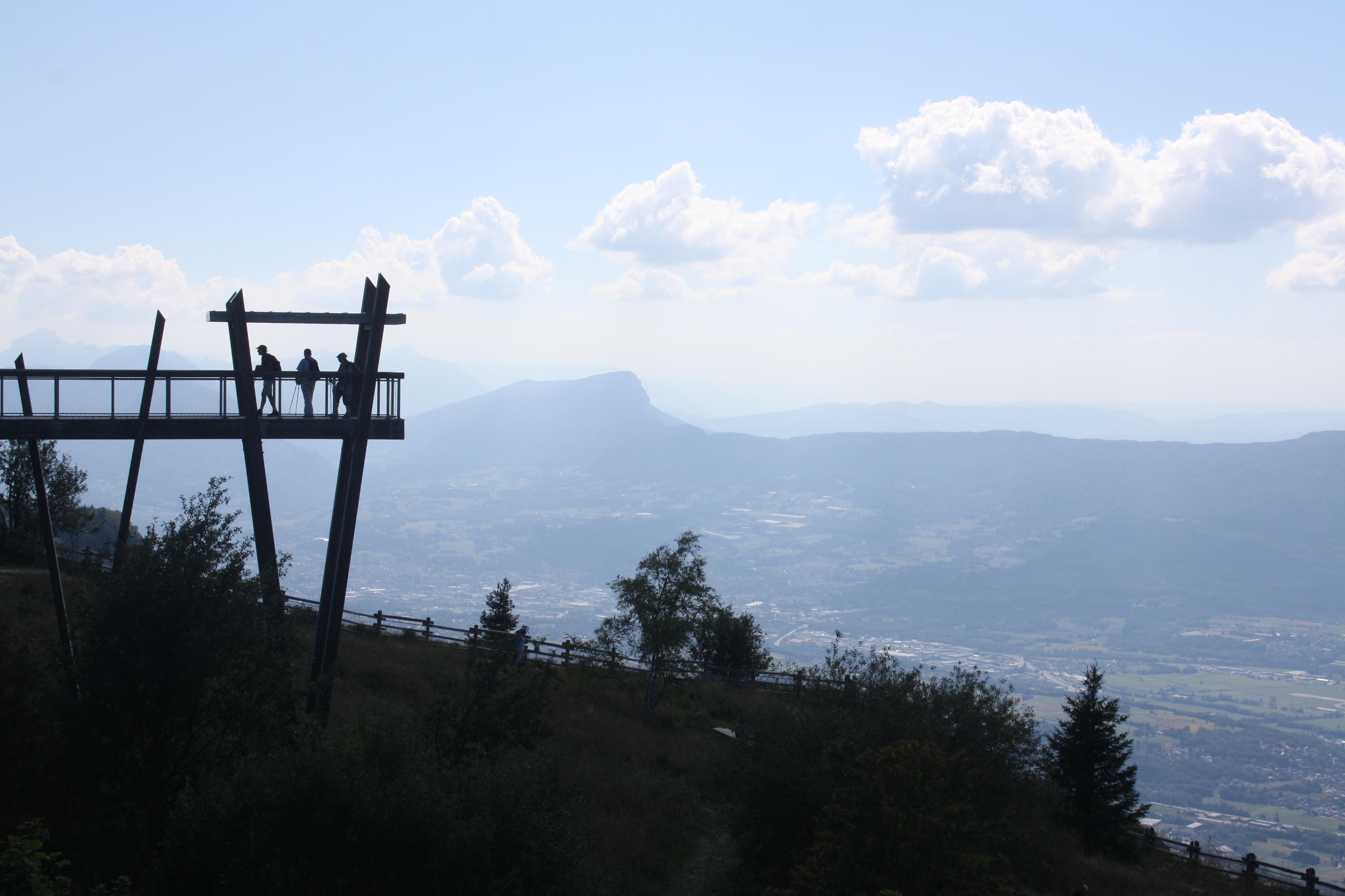 Circuit touristique dans le massif des Bauges