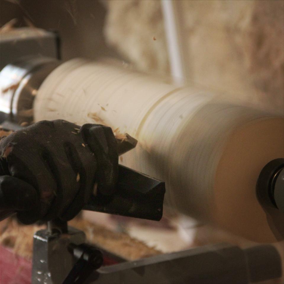 Initiation au tournage sur bois