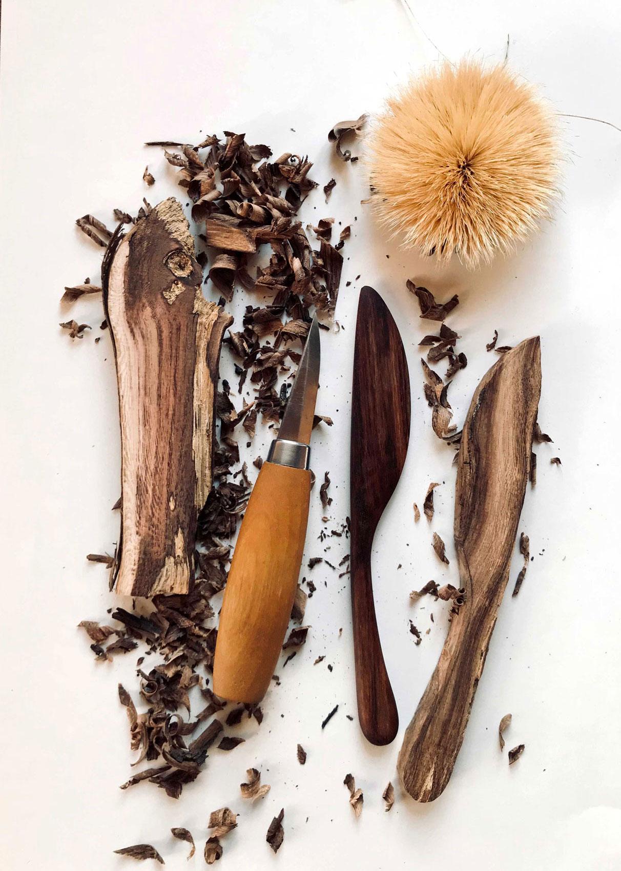 Sculptez éco-durable tout en bois