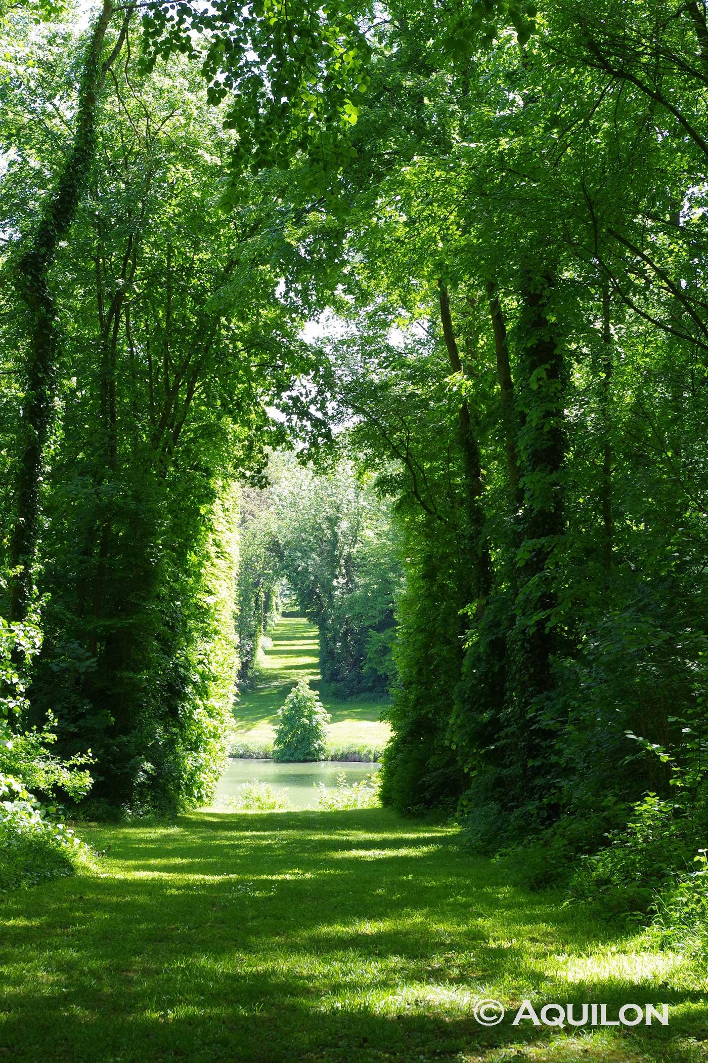 Visite du parc du château de Versigny