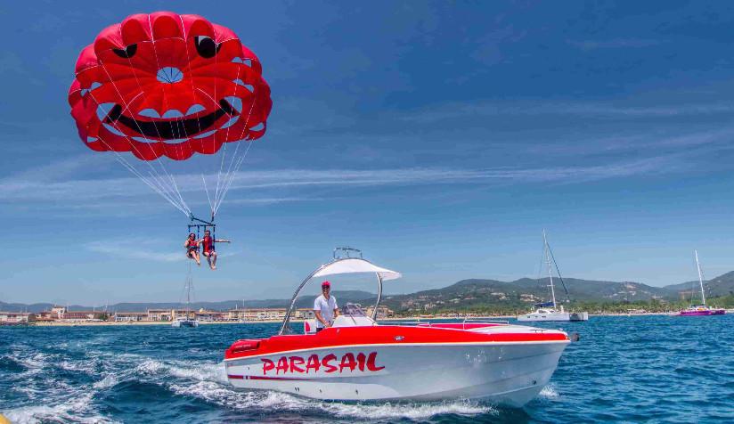 Parachute ascensionnel à Sainte Maxime