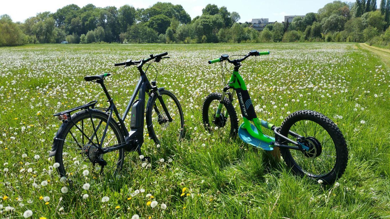 Journée sportive en vélo électrique et Kayak à Briollay