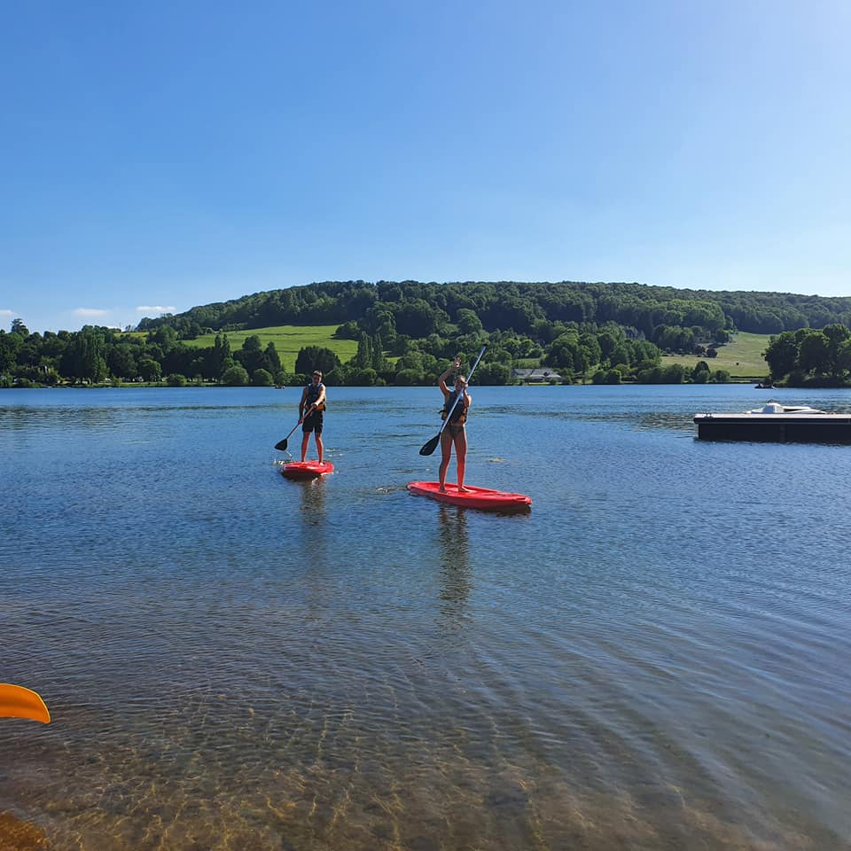 Initiation au stand-up paddle et stand-up paddle géant dans le Calvados