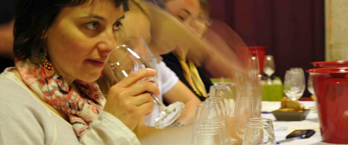 Initiation à la dégustation de vin avec un oenologue