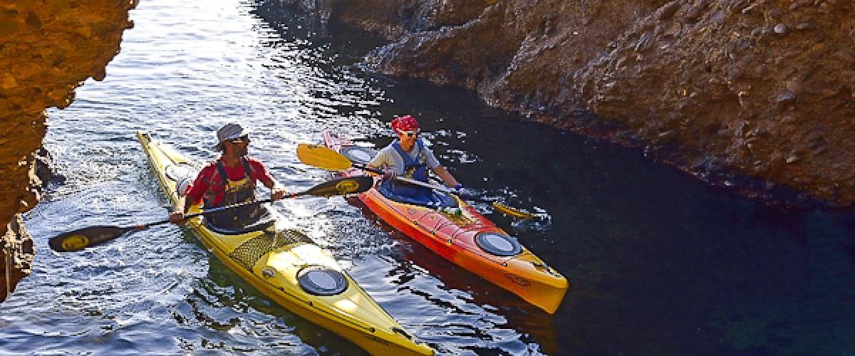 Demi-journée Kayak de Mer Parc National des Calanques au départ de La Ciotat