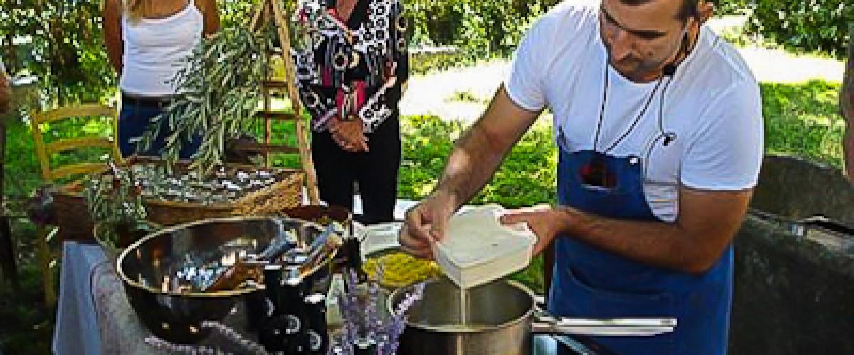 Visite du moulin à huile et cuisine avec une passionée