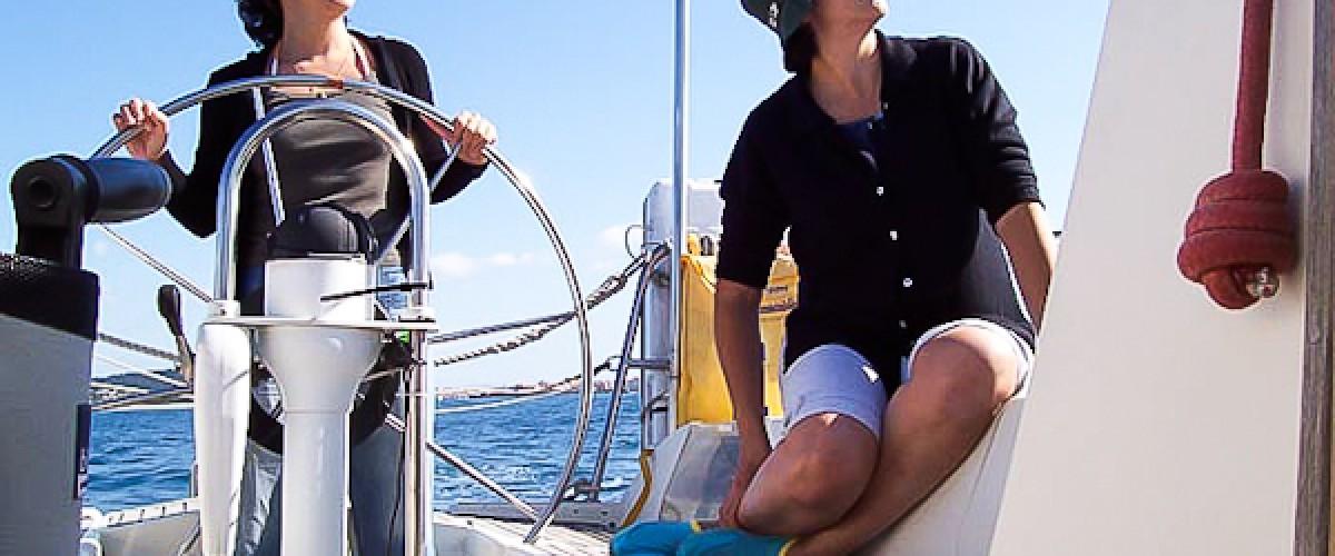 Initiation à la voile à la journée avec skipper