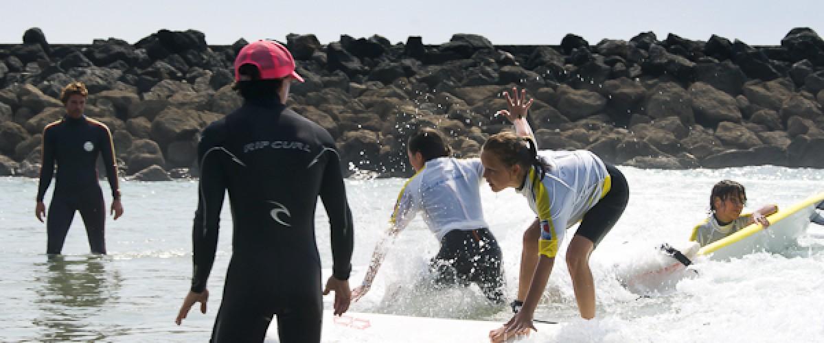 Initiation ou perfectionnement au surf sur la côte basque !