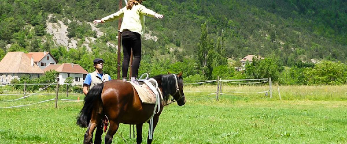Initiation et promenade à cheval pour les enfants