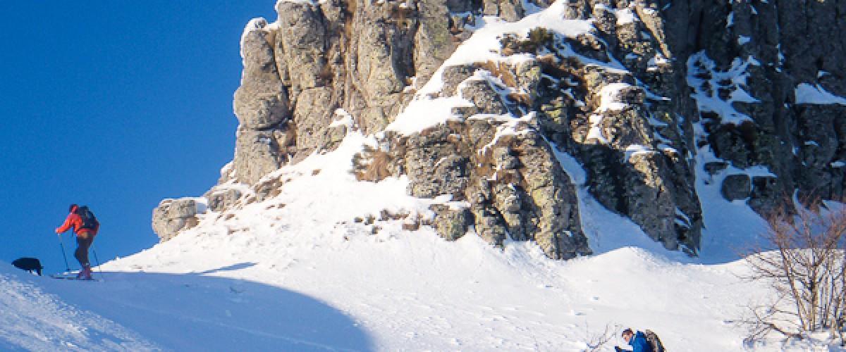 Initiation au Ski de randonnée dans le Cantal