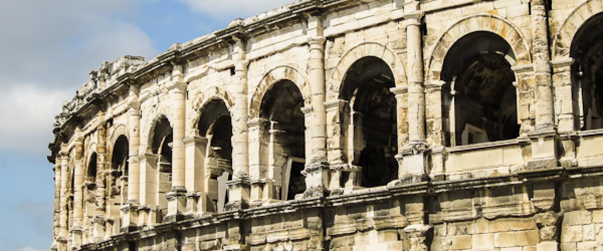 Visite de Nîmes, la Rome Française