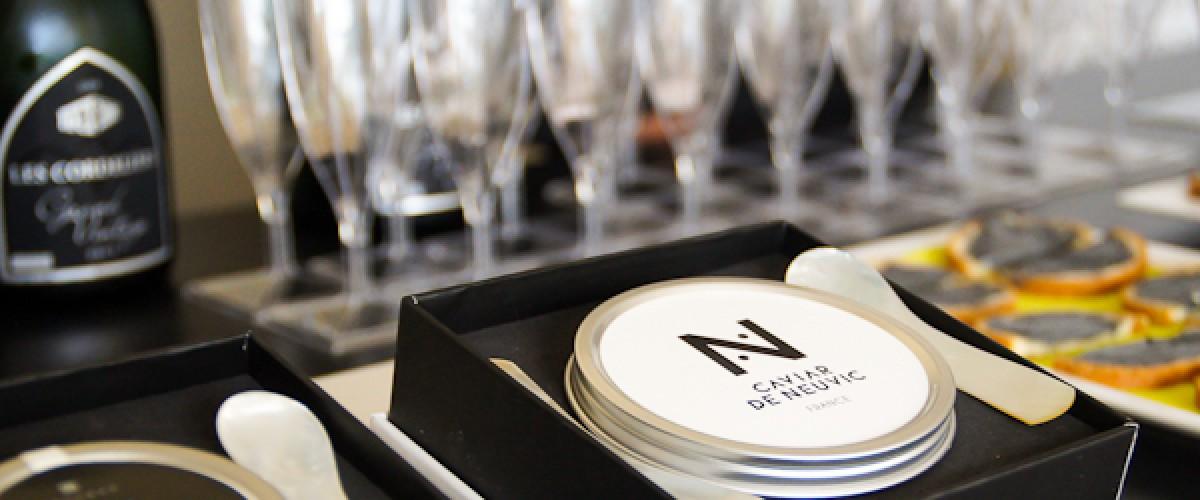 Visite d'un élevage d'esturgeons et dégustation de caviar d'Aquitaine