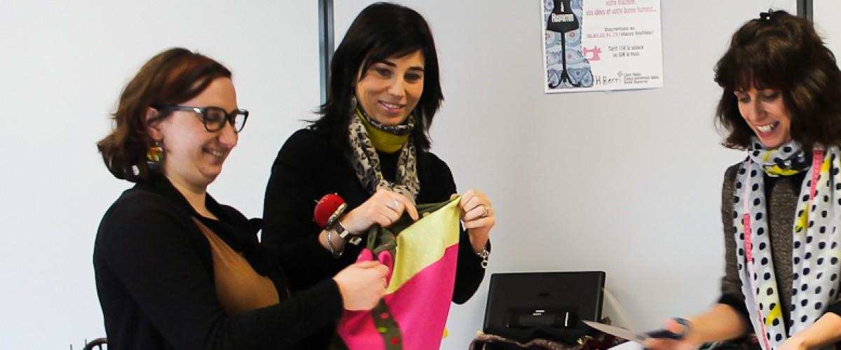 Cours de couture écolo avec une créatrice Basque